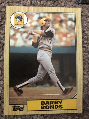 Barry Bonds Baseball Cards for Sale in South Brunswick Township, NJ