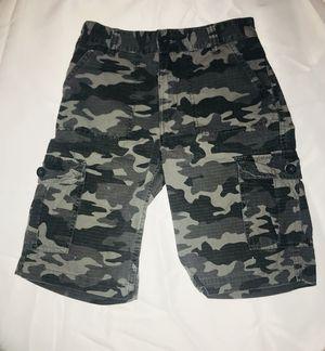 Boys Levi's Camouflage Cargo Shorts Size 12 for Sale in Arlington, VA