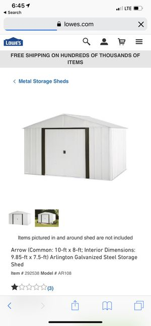 8x10 shed for Sale in Orlando, FL