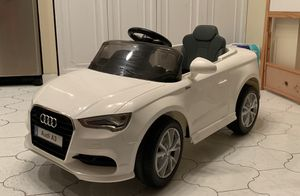 Power wheels, ride on toys, toy car, baby car, toddlers Electric kids car 12V Audi A3 REMOTE CONTROL for Sale in HALNDLE BCH, FL