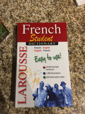French to English dictionary for Sale in Dallas, TX
