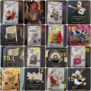 Disney pins for Sale in Temple City, CA