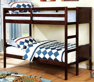 Twin/twin bunkbed(mattress included)[frame:$355]available in full for Sale in Riverside, CA
