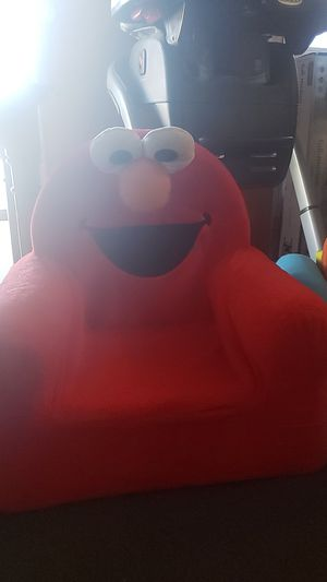 Elmo Chair & Mickey & Friends Fold-Out Kid's Love Seat for Sale in Ontario, CA