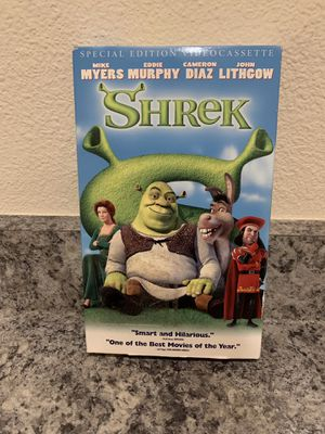 Shrek VHS for Sale in Gresham, OR