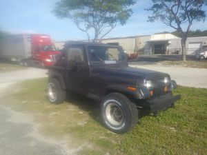 1991 jeep wrangler for Sale in West Palm Beach, FL