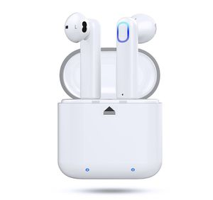 Bluetooth 5.0 Wireless Stereo Earbuds Headphones, Noise Cancelling with Built-in Mic and Charging Case, Hands-free Calling Sweatproof In-Ear Headset for Sale in Dallas, TX