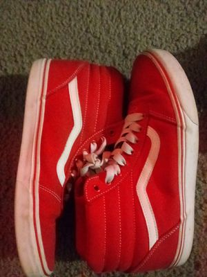 All red vans wore twice for Sale in Hayward, CA