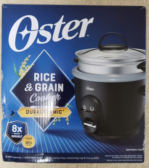 NEW Oster Rice Cooker - 6 cups for Sale in Aiea, HI