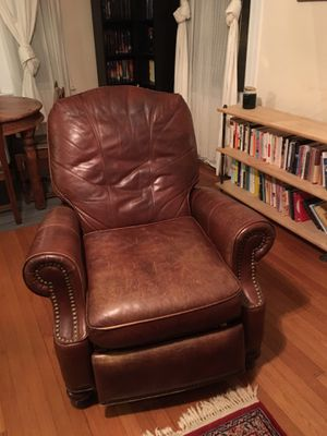 Leather recliner for sale for Sale in Washington, DC