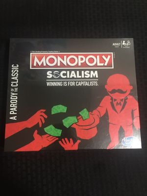 Hasbro Monopoly Socialism Parody Adult Board Game for Sale in Brooklyn, NY