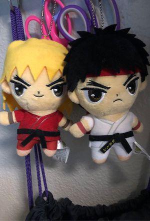 Street fighter keychain plushies for Sale in Roseville, CA