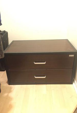 Dresser cabinet Wooden metal frame 2 Shelf for Sale in Austin, TX