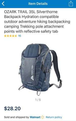 Ozark Trail Silverthorne Backpack for Sale in Lockport, IL