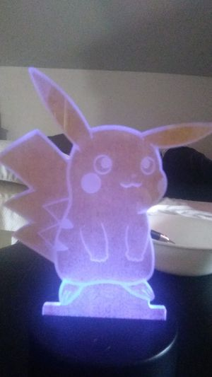 Light up pikachu light for Sale in Providence, RI