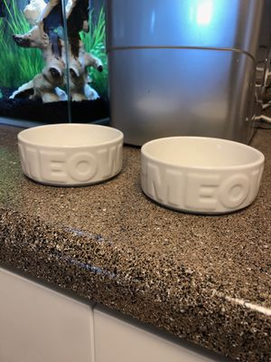 Cat bowls for Sale in Tigard, OR