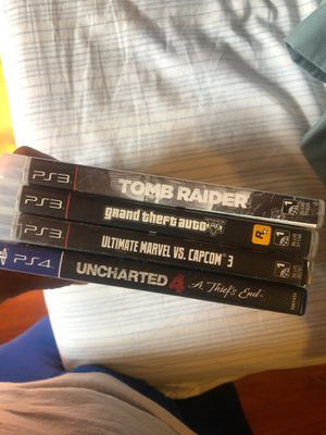 3 PS3 and 1 ps4 game for Sale in East Los Angeles, CA