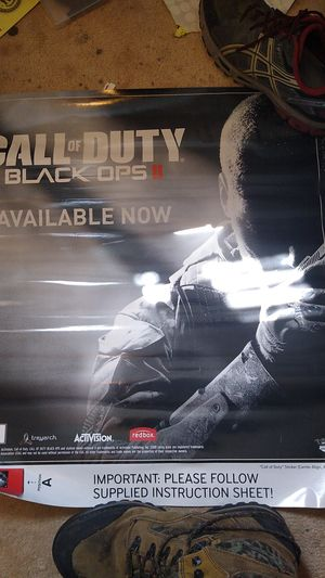 Call of Duty Black Ops Redbox poster for Sale in Westminster, CO