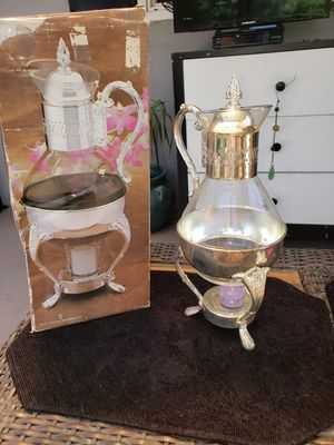 Silverplated coffee carafe for Sale in Torrance, CA
