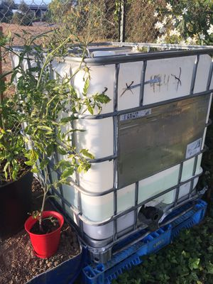 250gal ibc tote for Sale in Fremont, CA