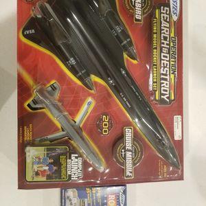 ESTES SEARCH AND DESTROY SR-71 ROCKET SET WITH ESTES BLAST-OFF FLIGHT PACK for Sale in Las Vegas, NV