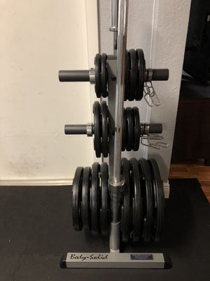 Body Solid free weights set for Sale in Margate, FL