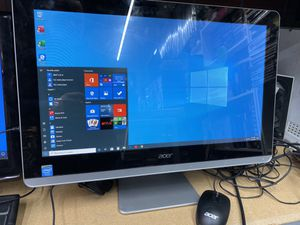 """Acer all in one computer 21"""" for Sale in Houston, TX"""