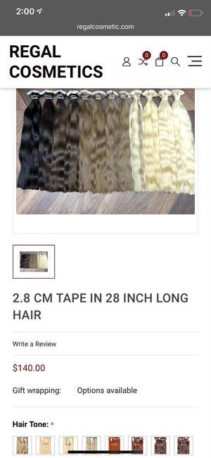 Real human virgin hair for Sale in Fontana, CA
