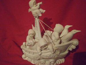 """Ship O' Dreams"" Set Of 2 Snowbabies Collectible for Sale in Leeds, AL"
