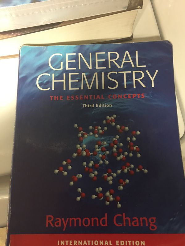 Chemistry college textbooks