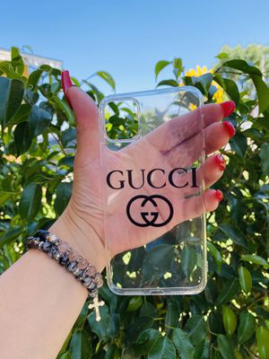 Brand new cool iphone 11 PRO MAX 6.5 case cover phone case rubber Clear transparent see through girls guys mens womens skate skateboard swag brands h for Sale in San Bernardino, CA