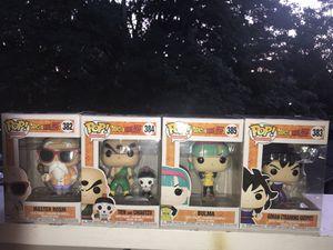 Dragon Ball Z Commons 4 Pop Set for Sale in Auburn, WA