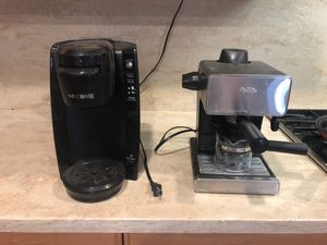 Keurig and expresso make both work. for Sale in Perris, CA