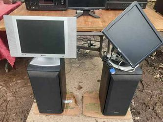 "Computer Monitors 16"" and 13"" with VGA and Power Cords $50 each now in NE DC for Sale in Washington,  DC"