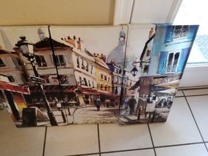 Nice canvas painting from At Home for Sale in Litchfield Park, AZ