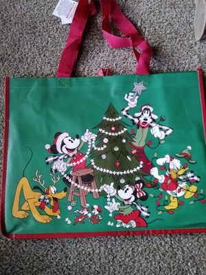 Disney holiday reusable bag for Sale in Norwalk, CA