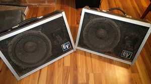 EV FM12-2 Floor Monitors Speakers Stage Pro Audio Nice for Sale in Pittsburgh, PA