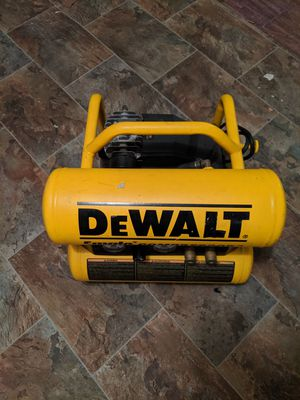 Nice delwalt air compressor. Works great. Perfect size for the garage or jobsite. for Sale in Kirkland, WA