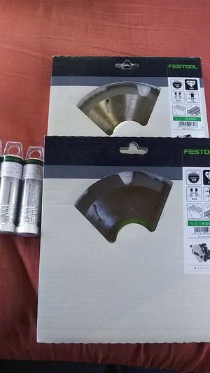 Festool Blade & Drill Bit Lot... for Sale in Eugene, OR
