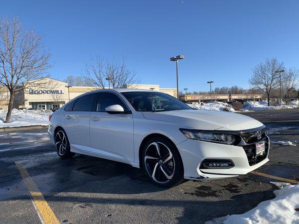2018 Honda Accord Turbo