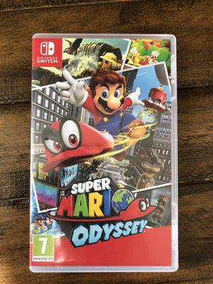 Nintendo Switch - Super Mario Odyssey for Sale in Irvine, CA