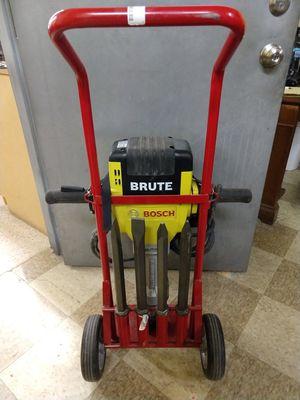 """Bosch Brute 15amp 1-1/8"""" corded concrete breaker hammer for Sale in Summit, IL"""