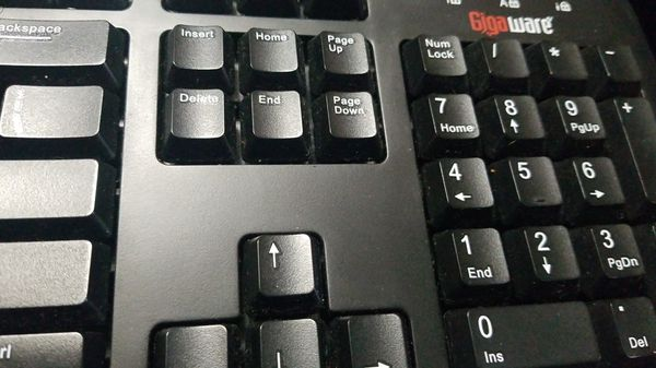 Gigaware USB multimedia keyboard