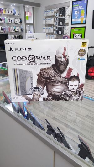 PS4 Pro 1TB God of war limited edition for $26 down payment for Sale in Sanford, FL