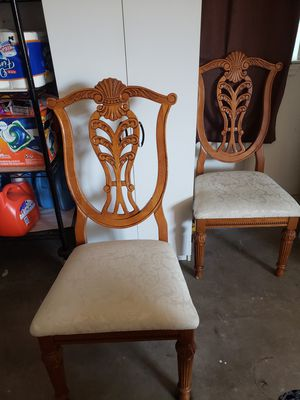 free 2 dining room chairs for Sale in Copperas Cove, TX