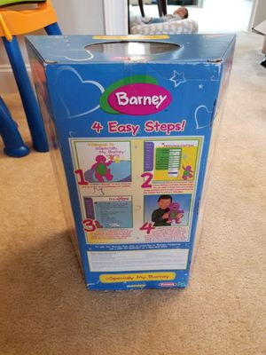 Playskool Especially My Barney Toy Doll Stuffed Animal for Sale in Loganville, GA