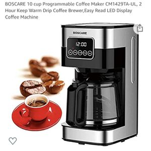 NEW Boscare coffee maker for Sale in Downey, CA