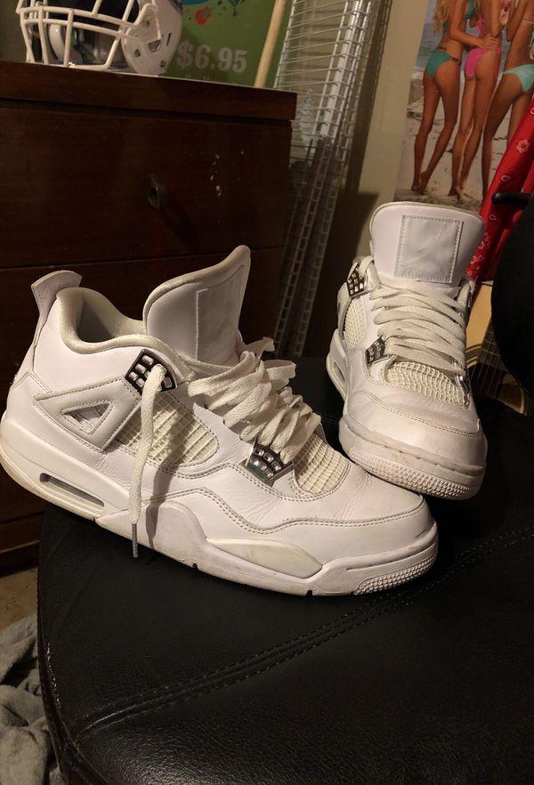 Jordan retro 4 pure moneys