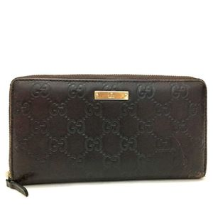 Monogram Gucci brown leather wallet for Sale in North Las Vegas, NV