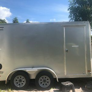Like New! Heavy Duty HAULMARK Trailer. Excellent For All Your Hauling Needs! for Sale in Boynton Beach, FL
